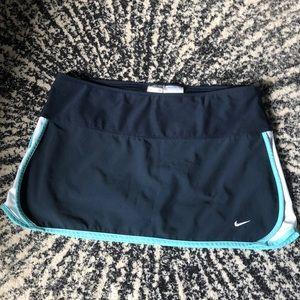 Nike FITDRY Navy light Blue Tennis Skirt Skort M